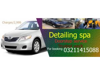 Detailing car spa - Car Wash Service
