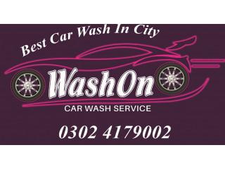Wash On - Car Wash Service